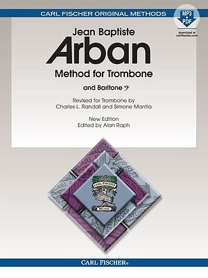 Arban's Famous Method For Trombone - Method Book O23X New