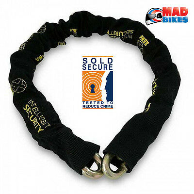 Xena  1.5m Ultra High Security Sold Secure Motorbike Motorcycle Security Chain