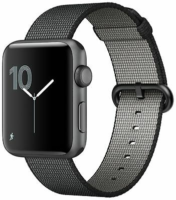 Apple Watch S2 8GB 42mm Space Grey/Black Nylon Band -From the Argos Shop on ebay
