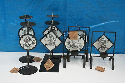 Wholesale job lot shop clearance Oriental T lite and candle holder mix batch x29