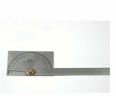 "General Hardware Mfg Co. Protractor 6"" Leg  (A-4-8-1-1)"