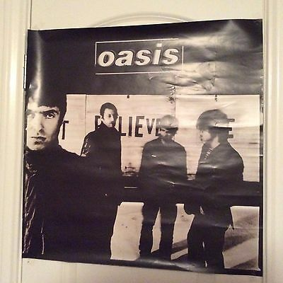 "OASIS: Don't Believe The Truth,  Promo Poster, 24"" x 24"""