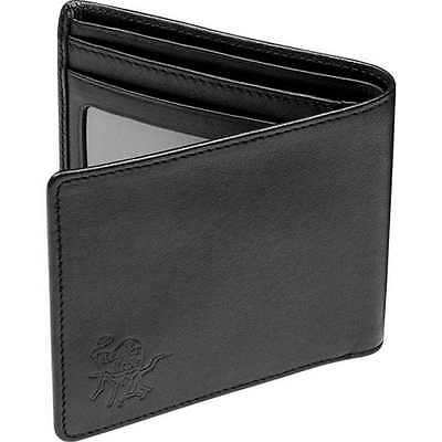 Rawlings Premium Heart of the Hide Leather Wallet, Single-Fold HOHWBL