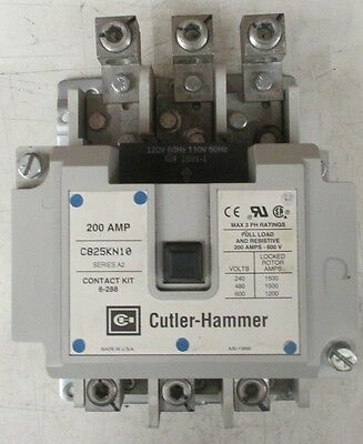 Cutler-Hammer 200A contact kit C825KN10