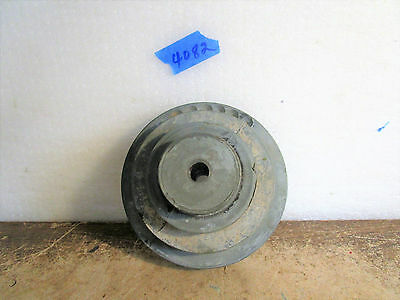 "4 Position Variable Speed V Belt Pulley 1/2"" Shaft"