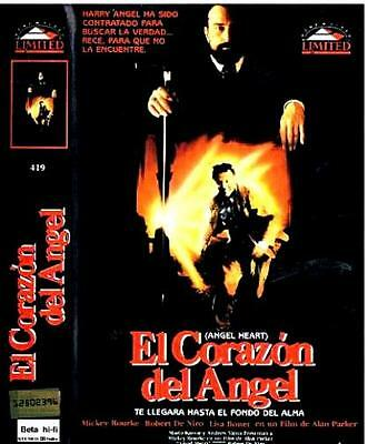 EL CORAZÓN DEL ÁNGEL / ALAN PARKER Mickey Rourke ANGEL HEART Cult - BETA + DVDR