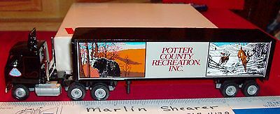 Potter County Recreation Tractor Trailer Winross Truck