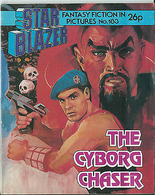 The Cyborg Chaser,starblazer Fantasy Fiction In Pictures,no.183,1986,comic