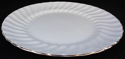 Tuscan Royal Tuscan Dover Gold Trim Dinner Plate