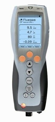 Testo 330-1G LL Color Combustion Analyzer Meter Kit 1