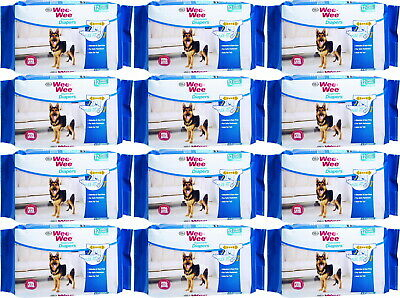 Four Paws Wee Wee Disposable Diapers, Large/X-Large 144ct (12 x 12ct)