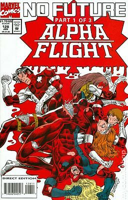 Alpha Flight (1983 1st Series) #128 FN