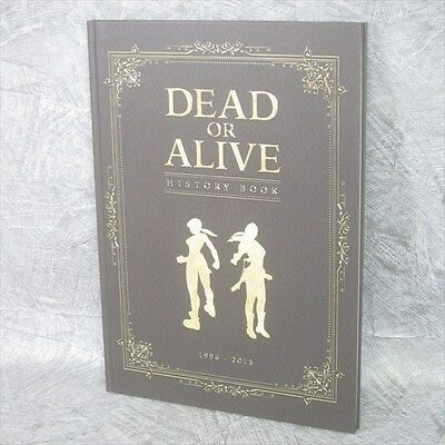 DEAD OR ALIVE History Book 1996-2015 DOA Art Illustration Ltd *