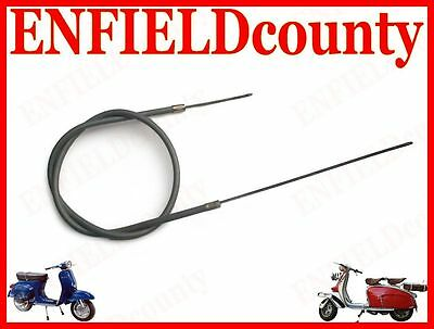 New Lambretta Scooter Complete Friction Free Rear Brake Cable @cad