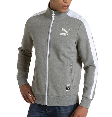 Puma T7 Mens Track Jacket - Grey