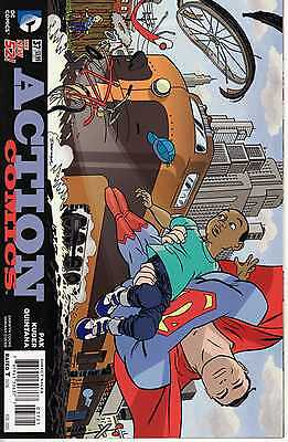 Action Comics (Vol. 2) Heft 37 Variant Darwyn Cooke Wraparound Cover