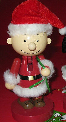 "Peanuts Nutcrackers Charlie Brown  9 1/4"" tall"