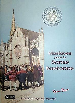 Accordion diatonic Collection of tablatures : Music for the dance bretonne