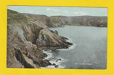 Topography - Shurey Publications Postcard -  The  Coast  Of  Sark  -  1906