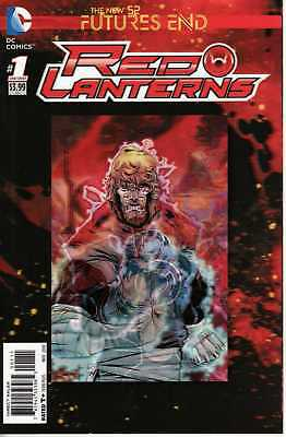 Futures End : Red Lanterns 1 One Shot 3D Motion Cover