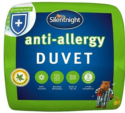 Silentnight Anti Allergy Duvet / Quilt - 4.5 Tog - Single Double or King Size