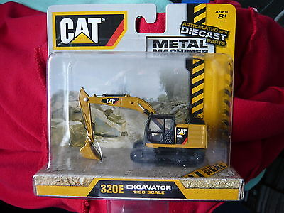 cat diecast 320E EXCAVATOR  1/90 SCALE MODEL NEW & SEALED ITEM