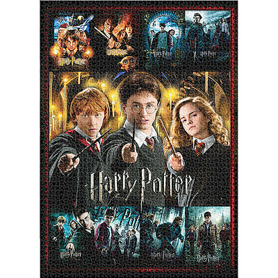 NEW Harry Potter 3000 Piece Jigsaw Puzzle With Movie Posters From All 8 Films