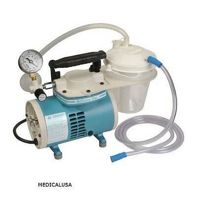 NEW Schuco S430A Aspirator/SUCTION PUMP COMPLETE WITH ALL HOSES.