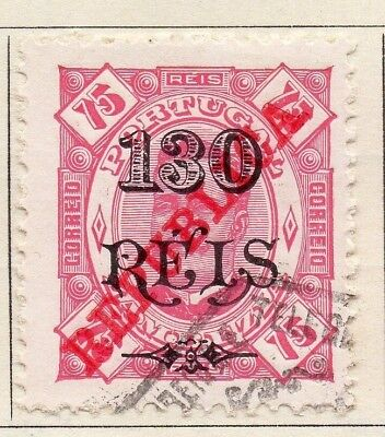 Zambezia 1914 Early Issue Fine Used 130r. Surcharged Optd 126148