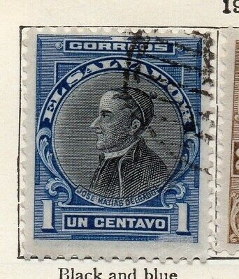 Salvador 1912 Early Issue Fine Used 1c. 126158