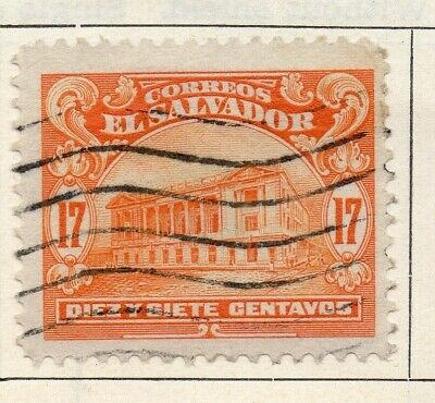 Salvador 1916 Early Issue Fine Used 17c. 126180