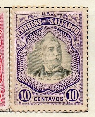 Salvador 1906 Early Issue Fine Mint Hinged 10c. 126206