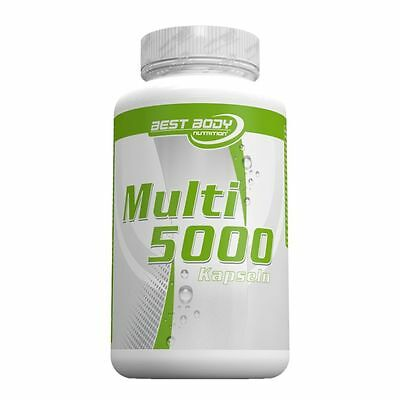Multivitamin 5000 - 100 Kapseln Dose (Best Body Nutrition)