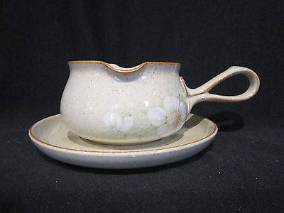 Denby - DAYBREAK-   Gravy Boat and Stand