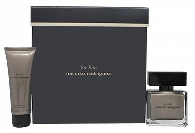 Narciso Rodriguez For Him Gift Set 50Ml Edp + 75Ml All-Over Shower Gel - Men's