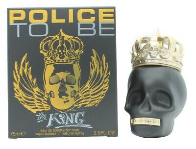 Police To Be The King Eau De Toilette 75Ml Spray - Men's For Him. New