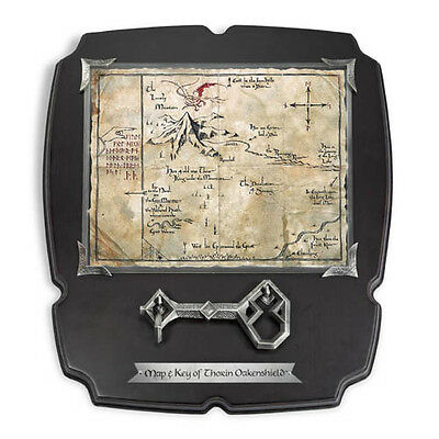 The Hobbit Thorin Oakenshield DeLux 15 X 13 Inch Map & Key - NOBLE