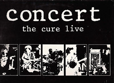 The Cure Disco Lp 33 Giri Concert The Cure Live - Robert Smith