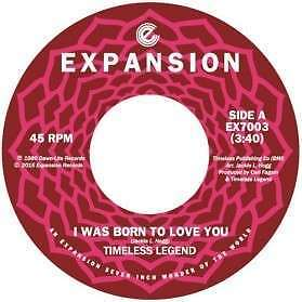 """Timeless Legend - I Was Born To Love You / (baby NEW 7"""""""
