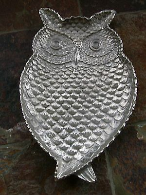 big metal owl table plate-weight 1.1kg