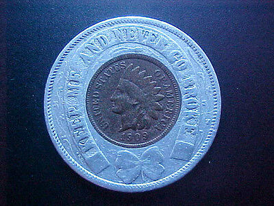 ALASKS-YUKON PACIFIC EXPOSITION - Seattle - Encased Cent - 1909