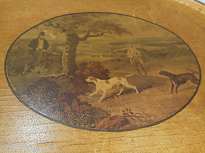 Hunting Scence , Dogs Tray  ref 1200