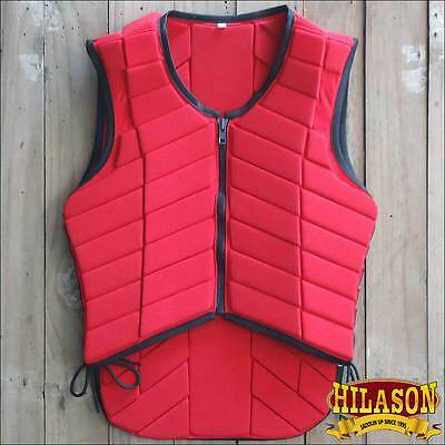 Pv121-F Hilason Adult Safety Equestrian Eventing Protective Protection Vest Xxxl