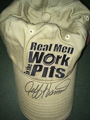 Jeff Hammond on Real Men Work the Pits Hat $19