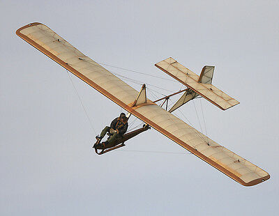 1/5 Scale Zoegling Primary Glider Sailplane Plans, Templates and Instructions