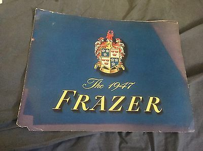 1947 1948 Frazer Color Brochure  Prospekt
