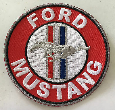 Ford Mustang Pony Embroidered  Cloth  Patch.    G011202