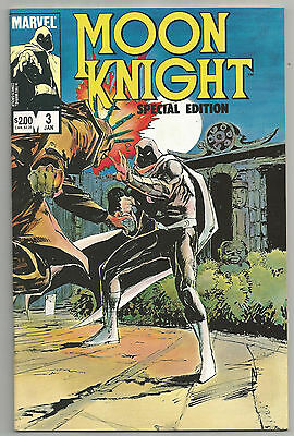 MOON KNIGHT SPECIAL # 3 * 1984 * REPRINTS EARLY MOON KNIGHT stories