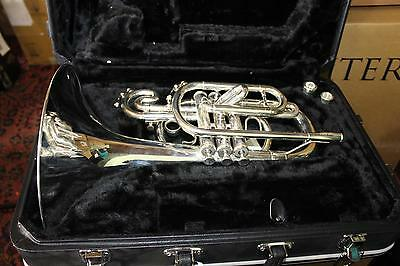 Jupiter Quantum 5050S Marching Mellophone DISPLAY MODEL MINT  QuinnTheEskimo