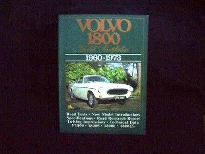 VOLVO 1800 Gold Portfolio 1960-1973 compiled by R. M. Clarke pb BROOKLANDS BOOKS